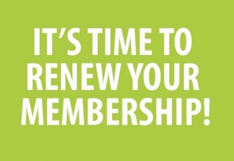 Renew Your Dues